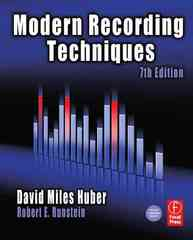Modern Recording Techniques 7th edition 9780240810690 0240810694