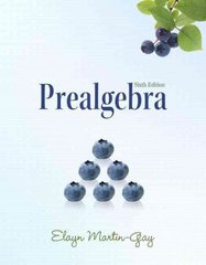 Prealgebra 6th edition 9780321628862 0321628861