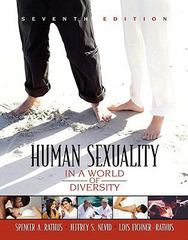 Human Sexuality in a World of Diversity (paperbound) 7th edition 9780205523122 0205523129