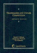 Trademarks and Unfair Competition 7th edition 9781422422205 1422422208