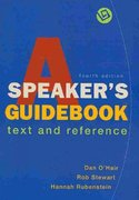 Speaker's Guidebook 4e & e-Book & Outlining and Organizing Your Speech 4th edition 9780312563325 0312563329