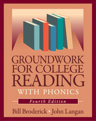 Groundwork for College Reading with Phonics 4th Edition 9781591940869 1591940869