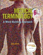Medical Terminology 6th edition 9780135005699 0135005698