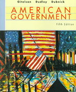 American Government, Fifth Edition 5th edition 9780395887349 0395887348