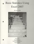 Basic Statistics Using Excel to accompany Statistical Techniques in Business and Economics 14th edition 9780077270018 0077270010
