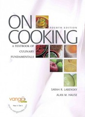 On Cooking: A Textbook of Culinary Fundamentals and Cooking Techniques DVD Package 4th edition 9780132380911 0132380919