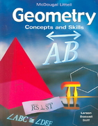 McDougal Concepts and Skills Geometry 1st Edition 9780618501571 0618501576
