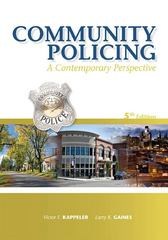 Community Policing 5th edition 9781593455118 1593455119