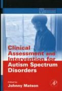 Clinical Assessment and Intervention for Autism Spectrum Disorders 1st edition 9780123736062 0123736064