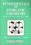 Fundamentals of Inorganic Chemistry 0 9781898563389 1898563381
