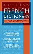 Collins French Dictionary 1st Edition 9780061260476 0061260479