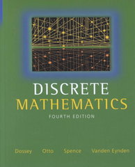 Discrete Mathematics 4th edition 9780321079121 0321079124