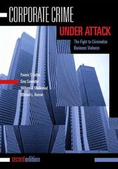 Corporate Crime Under Attack 2nd Edition 9781593459550 1593459556