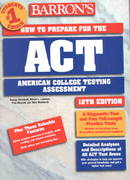 How to Prepare for the ACT 12th edition 9780764113697 0764113690