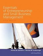 Essentials of Entrepreneurship and Small Business Management Value Package (includes Business Plan Pro, Entrepreneurship: Starting and Operating a Small Business) 5th edition 9780132425681 0132425688