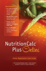 NutritionCalc Plus Online Student Access Card Updated with MyPlate 1st edition 9780073375526 0073375527