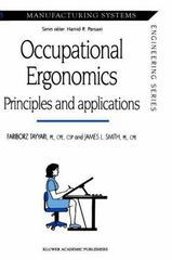 Occupational Ergonomics 1st edition 9780412586507 0412586509