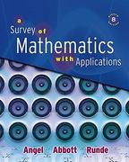 Survey of Mathematics with Applications Value Pack (includes MyMathLab/MyStatLab Student Access Kit  & Student's Solutions Manual for A Survey of Mathematics with Applications) 8th edition 9780321589132 0321589130