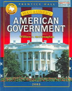 Magruder's American Government 1st Edition 9780130637000 0130637009