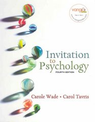 Invitation to Psychology 4th edition 9780131347441 0131347446