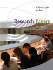 Research Papers 15th edition 9780547190815 0547190816
