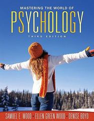 Mastering the World of Psychology Value Package (includes MyPsychLab with E-Book Student Access  ) 3rd edition 9780205605927 0205605923