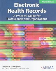 Electronic Health Records 4th edition 9781584262190 1584262192