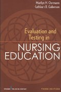Evaluation and Testing in Nursing Education 3rd Edition 9780826110619 0826110614