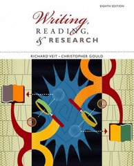 Writing, Reading, and Research 8th edition 9780547191041 0547191049