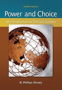 Power &amp. Choice: An Introduction to Political Science 12th edition 9780073379036 0073379034