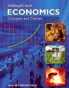 McDougal Littell Economics Concepts and Choices 1st Edition 9780618594030 0618594035