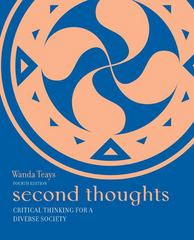 Second Thoughts 4th Edition 9780073386706 0073386707