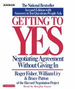 Getting to Yes 2nd edition 9780743526937 0743526937