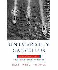 University Calculus Elements with Early Transcendentals