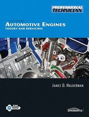 Automotive Engines 6th edition 9780136081913 0136081916
