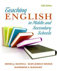 Teaching English in Middle and Secondary Schools 5th Edition 9780135135303 0135135303