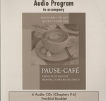 Audio CDs to accompany Pause-café 1st edition 9780072964875 0072964871