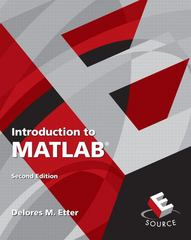 Introduction to MATLAB 2nd edition 9780136081234 0136081231