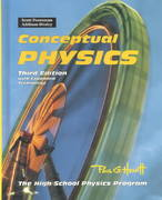 Conceptual Physics 4th Edition 9780201332872 0201332876