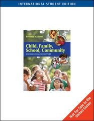Child, Family, School, Community 8th edition 9780495804857 0495804851
