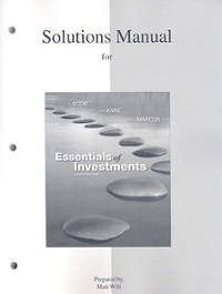 Essentials of Investments 8th edition 9780077246013 0077246012