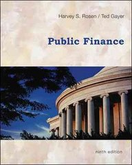 Public Finance 9th edition 9780073511351 0073511358