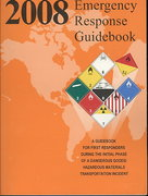 Emergency Response Guidebook 2008 1st edition 9781598044157 159804415X