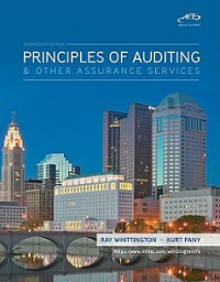 Principles of Auditing &amp. Assurance Services with ACL Software CD 17th edition 9780077304454 0077304454