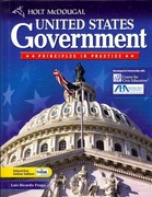 Holt Mcdougal United States Government: Principles in Practice 1st Edition 9780030930287 0030930286