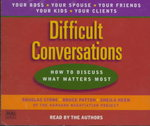 Difficult Conversations 1st edition 9780553456127 0553456121