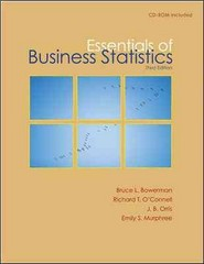Essentials of Business Statistics with Student CD 3rd edition 9780077323134 0077323130