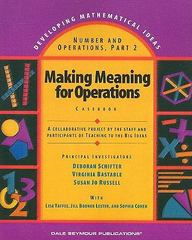 Number and Operations 1st Edition 9780769001722 0769001726
