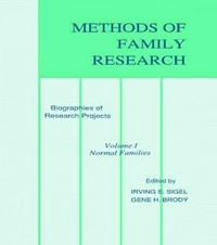 Methods of Family Research 0 9780898598261 0898598265