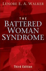 Battered Woman Syndrome 3/e H/C 3rd edition 9780826102522 0826102522